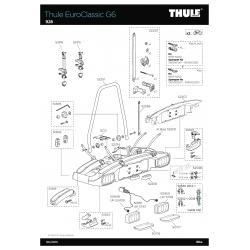 Pièce SAV Thule Euroclassic G6